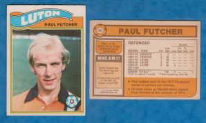 Luton Town Paul Futcher 88